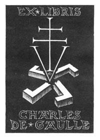 Charles De Gaulle - Ex Libris