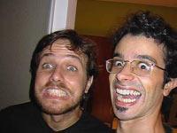 Pedro e Yuri durante surto coletivo