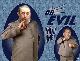 Fidel Castro e Hugo Chávez