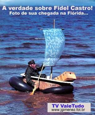 Fidel chegando em Miami