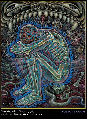 Alex Grey - Desespero