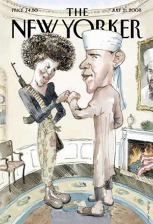 The Controversy Obama\'s New Yorker Cover